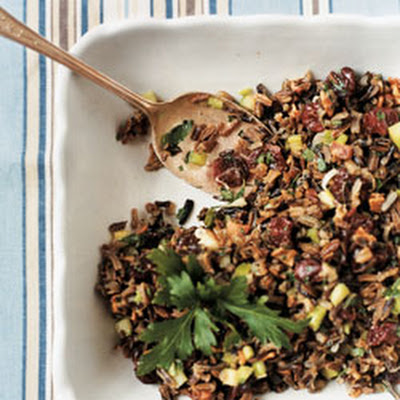 Wild Rice Salad with Dried Sour Cherries
