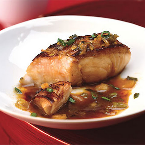Steamed Fish on Soft Tofu with Black-bean Sauce