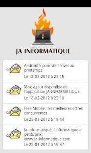 JA-INFORMATIQUE - screenshot