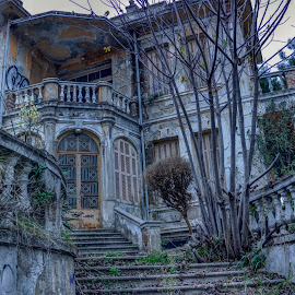 Old house by Stratos Lales - Buildings & Architecture Decaying & Abandoned ( building, old, abandoneed, house, decaying )