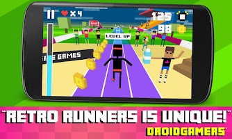 Screenshot of Retro Runners - Endless Run