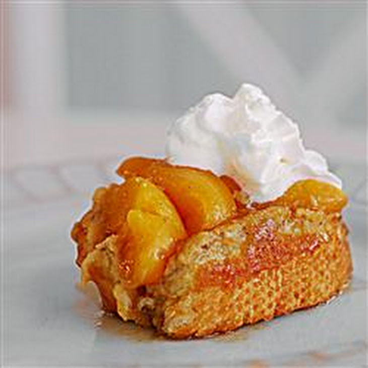 Grandma's Peach French Toast