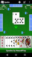 Screenshot of Spades by NeuralPlay