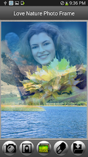 Love Nature Photo Frame - screenshot