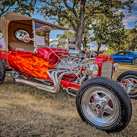 Red Hot by Ron Meyers - Transportation Automobiles