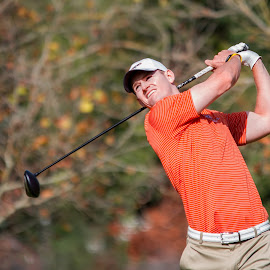 Tee Shot by Keith Sanpei - Sports & Fitness Golf ( athletics, pacific invitational, pacific, men's golf )