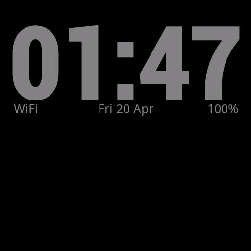 Simple Clock Live Wallpaper 個人化 App LOGO-硬是要APP