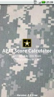 Screenshot of APFT Calculator w/ Score Log