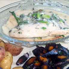 Baked Tilapia With White Wine and Herbs