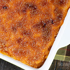 Mashed Sweet Potatoes Brulee