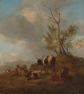 RIJKS: Willem Romeyn: painting 1694