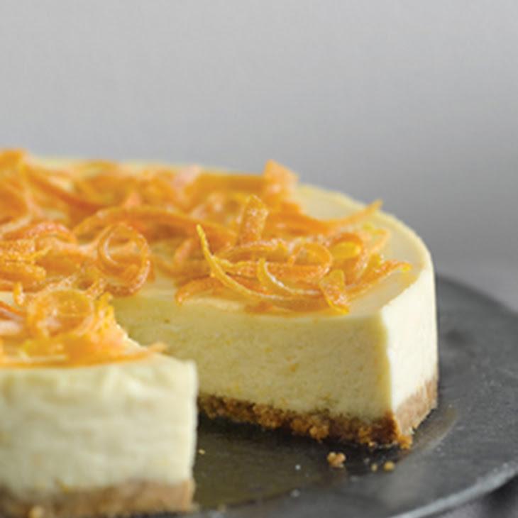 Orange Ricotta Cheesecake Recipe | Yummly