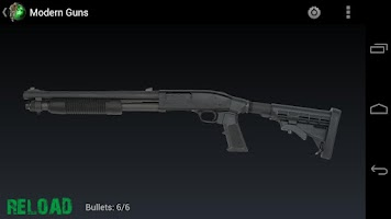 Screenshot of Modern Warfare Guns