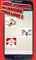 Screenshot of My Chat Sticker Love Story