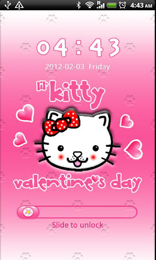 GO Locker Lil' Kitty Valentine