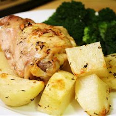 Lebanese Chicken and Potatoes