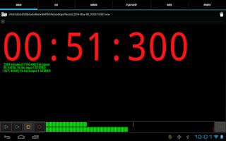 Screenshot of USB Audio Recorder PRO