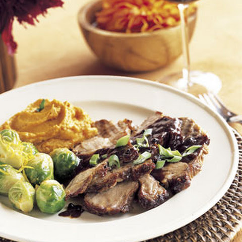 Slow-Cooked Hoisin Pork Roast with Green Onions