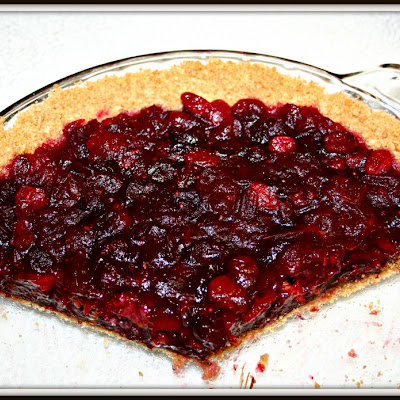 Cranberry Fudge Pie