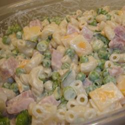 Ham and Cheddar Pasta Salad