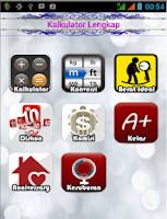 Screenshot of Kalkulator Lengkap Total