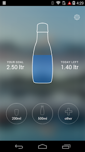 Quellvital DrinkApp - screenshot