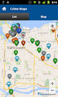 Screenshot of Metro Vancouver Transit Police