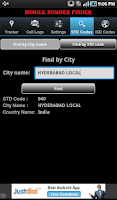 Screenshot of Mobile Number Finder
