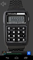 Screenshot of Calculator Watch