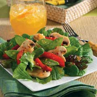 Snow Peas Red Pepper Mushroom Salad Recipes