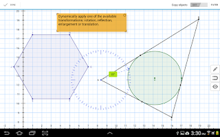 Screenshot of Geometry Pad