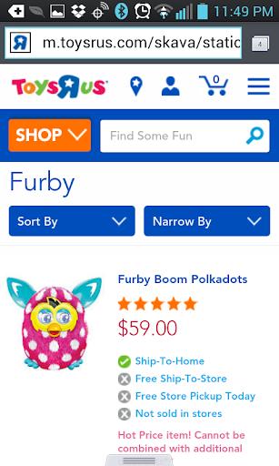 Find A Furby BOOM! - screenshot