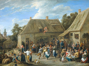 RIJKS: David Teniers (II): Peasant Kermis 1665