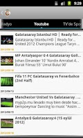 Screenshot of Galatasaray Haber