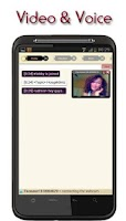 Screenshot of oChat Voice & Video Chat Rooms