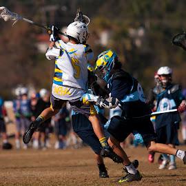 Score!! by Kevin Mummau - Sports & Fitness Lacrosse ( defense, jumpshot, offense, questionmark, lacrosse )