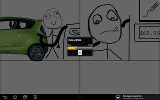 Screenshot of Rage Comic Maker