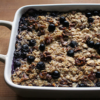 Baked Oatmeal With Fruit And Nuts Recipes