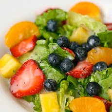 Summer Strawberry Salad with Creamy Poppy Seed Vinaigrette
