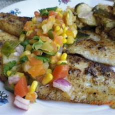 Catfish with Tropical Fruit Salsa