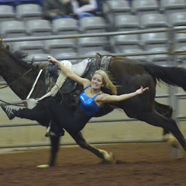 by Daryell Smith - Sports & Fitness Rodeo/Bull Riding