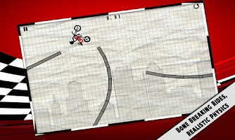 Screenshot of Stick Stunt Biker