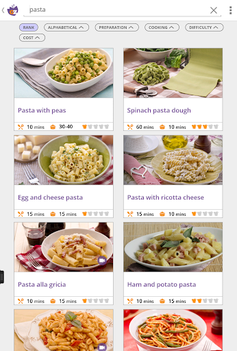 GialloZafferano Recipes - screenshot