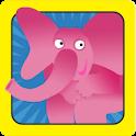 פילים בכל הצבעים - עברית לילדי icon