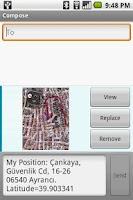 Screenshot of MyPosition