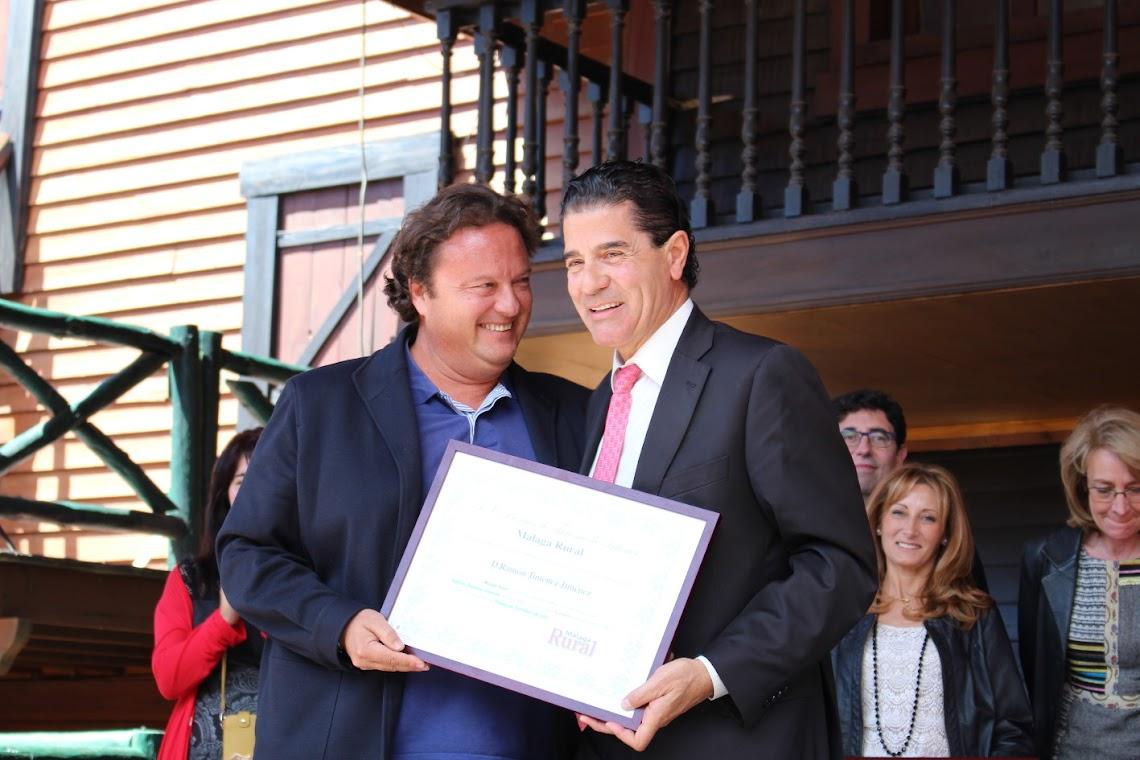 RAMÓN JIMÉNEZ, TOURISM PERSONALITY OF THE YEAR