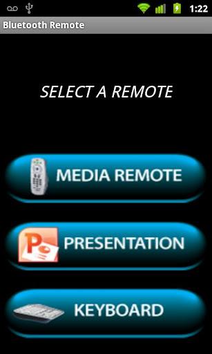 Bluetooth Remote Demo