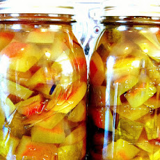 Watermelon Rind Pickles (Crisp Version)