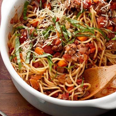 Amazing One-Pot Pasta Bolognese