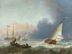 RIJKS: Ludolf Bakhuysen: painting 1694